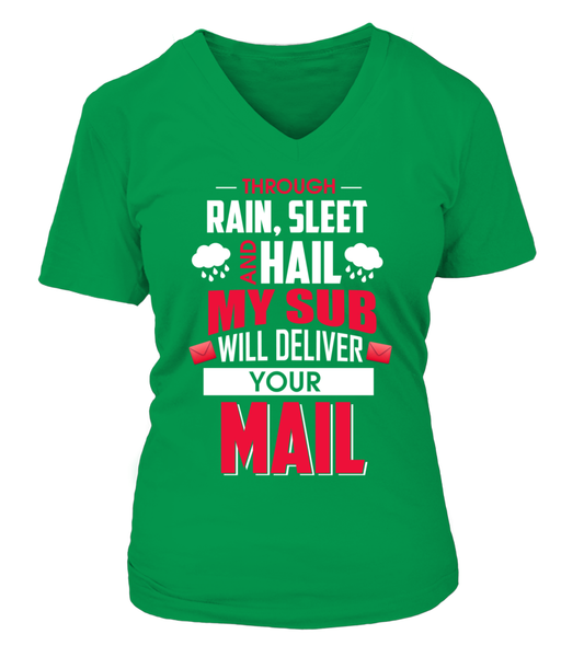 My Sub Will Deliver Your Mail Shirt - Giggle Rich - 16