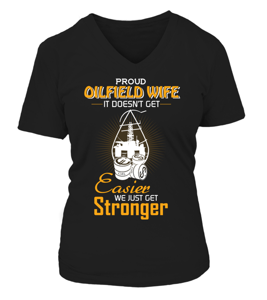 Proud Oilfield Wife Shirt - Giggle Rich - 12