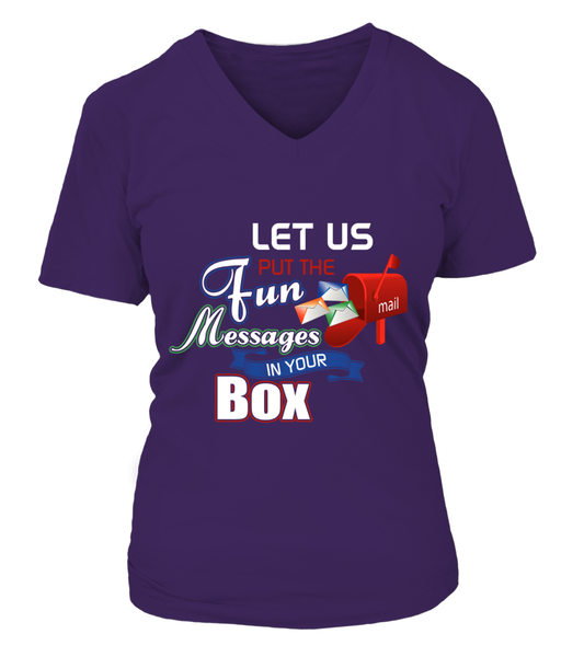 Postal Workers Put Messages In Your Box Shirt - Giggle Rich - 7