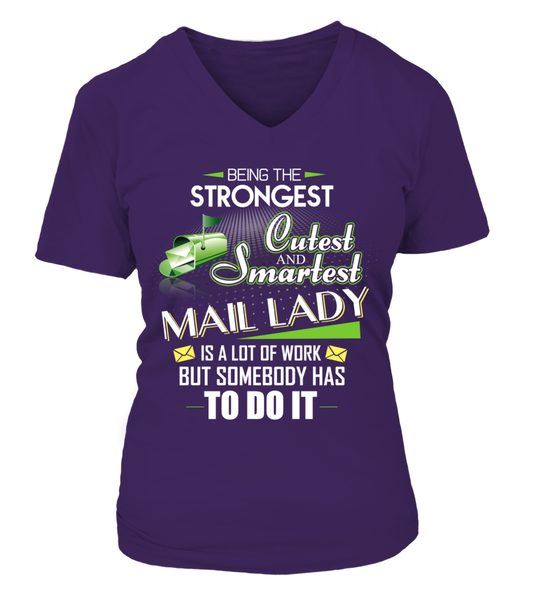 Cutest And Smartest Mail Lady Shirt - Giggle Rich - 5