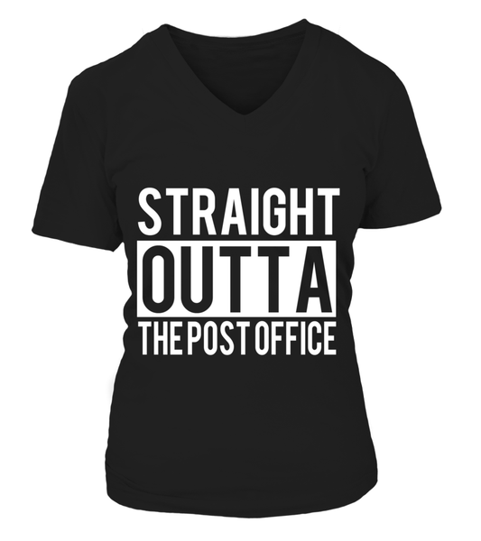Straight Outta The Post Office Shirt - Giggle Rich - 18