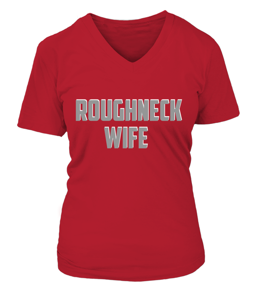 Roughneck Wife Waiting For Her Husband Shirt - Giggle Rich - 21