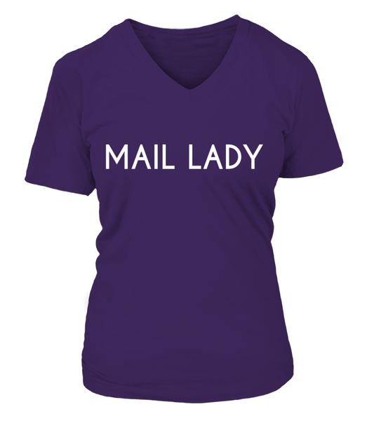 Never Underestimate The Power Of A Mail Lady Shirt - Giggle Rich - 27