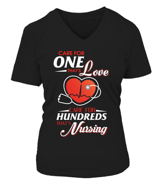 Care For Hundreds That's Nursing Shirt - Giggle Rich - 9