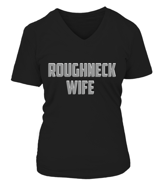 Roughneck Wife Waiting For Her Husband Shirt - Giggle Rich - 27