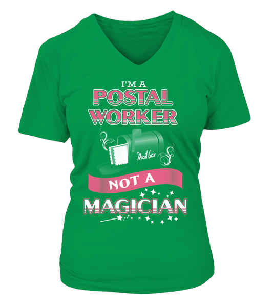 Postal Worker Not A Magician Shirt - Giggle Rich - 6