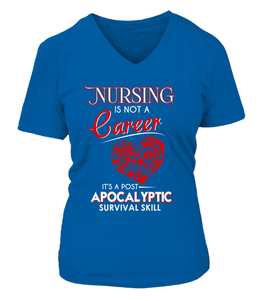 Nursing Is Not A Career Shirt - Giggle Rich - 12