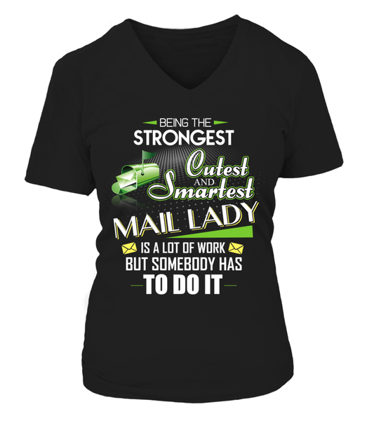 Cutest And Smartest Mail Lady Shirt - Giggle Rich - 9