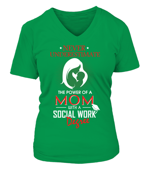 Mom With Social Work Degree Shirt - Giggle Rich - 16