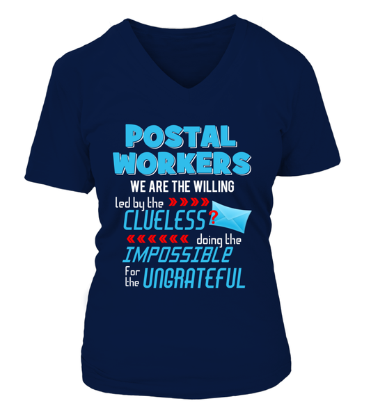 Postal Workers Doing The Impossible Shirt - Giggle Rich - 13