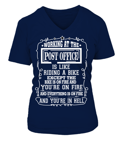 Working At The Post Office Shirt - Giggle Rich - 16