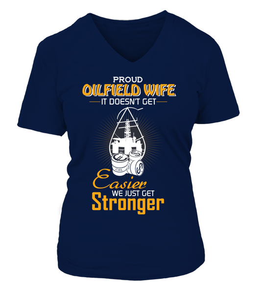 Proud Oilfield Wife Shirt - Giggle Rich - 14