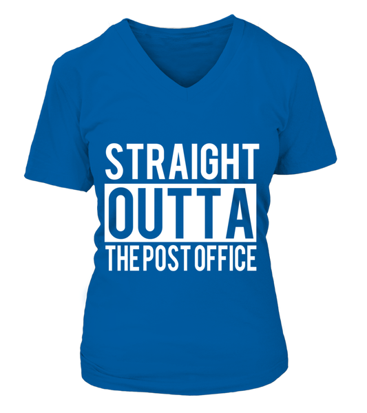 Straight Outta The Post Office Shirt - Giggle Rich - 16
