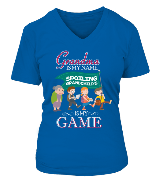 Grandma Is My Name And Spoiling Is My Game Shirt - Giggle Rich - 14