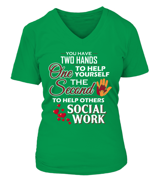 Social Worker Hands Shirt - Giggle Rich - 14