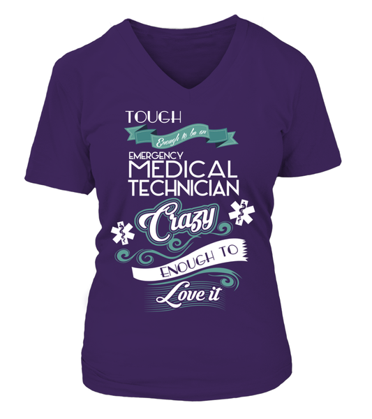 Tough Enough To Be An Emergency Medical Technician Shirt - Giggle Rich - 14