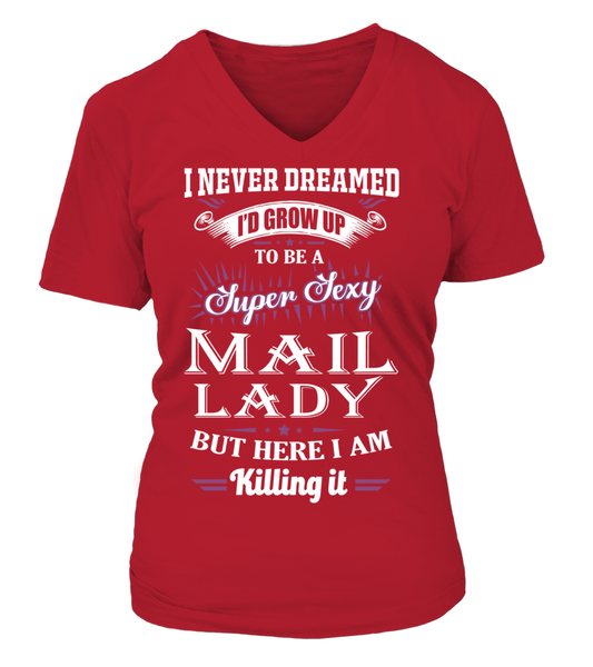 Super Sexy Mail Lady Shirt - Giggle Rich - 13