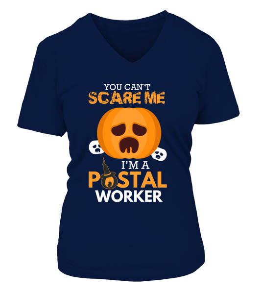 You Can't Scare Me I'm A Postal Worker Shirt - Giggle Rich - 8