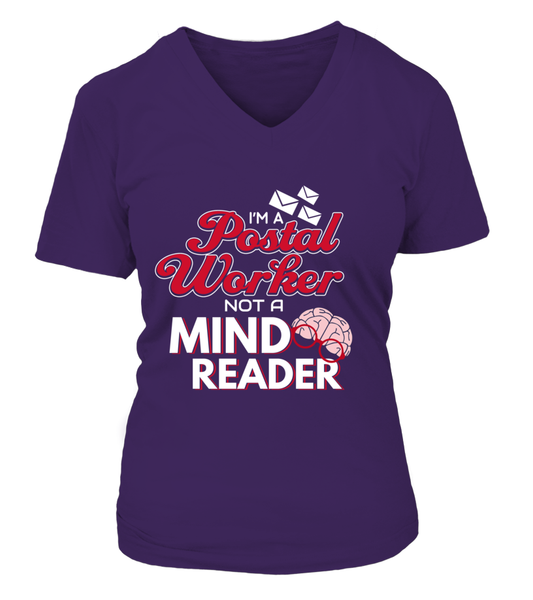 I'M A Postal Worker Not A Mind Reader Shirt - Giggle Rich - 8