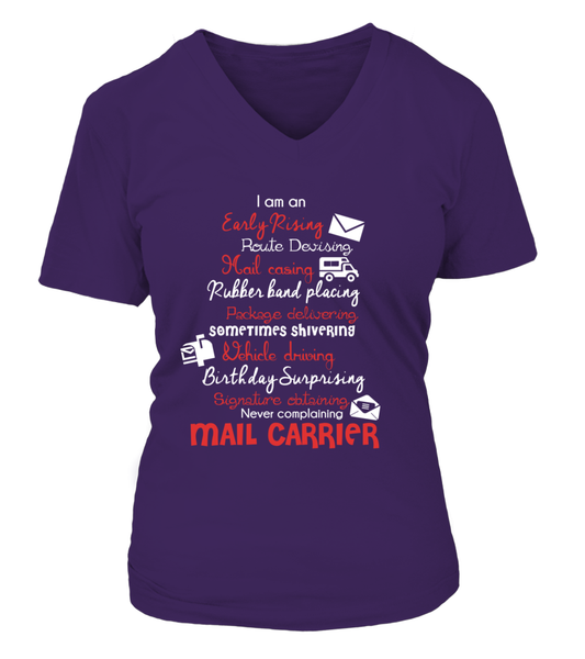 I Am An Early Rising Mail Carrier Shirt - Giggle Rich - 13