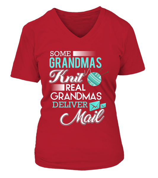Real Grandmas Deliver Mail Shirt - Giggle Rich - 14