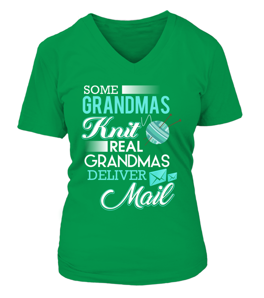 Real Grandmas Deliver Mail Shirt - Giggle Rich - 17
