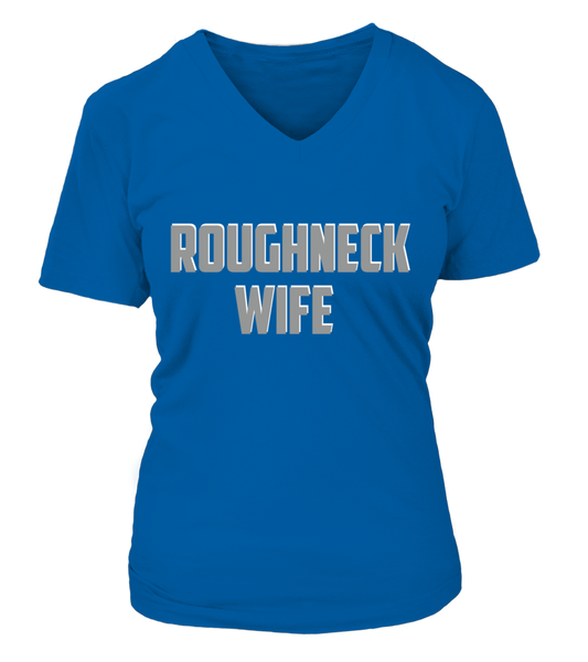 Roughneck Wife Waiting For Her Husband Shirt - Giggle Rich - 23