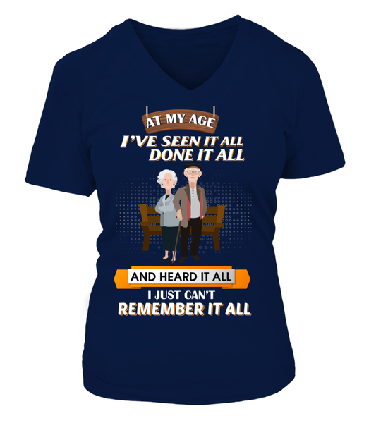 At My Age - I Just Can't Remember It All Shirt - Giggle Rich - 15