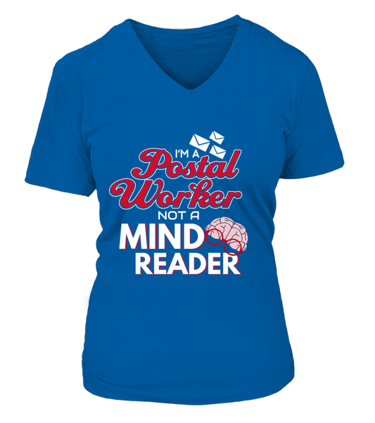 I'M A Postal Worker Not A Mind Reader Shirt - Giggle Rich - 9