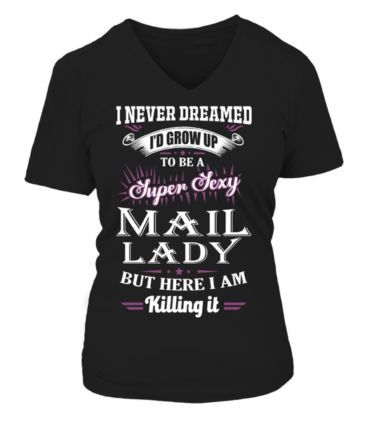 Super Sexy Mail Lady Shirt - Giggle Rich - 16