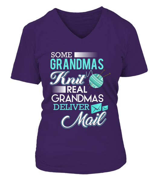 Real Grandmas Deliver Mail Shirt - Giggle Rich - 16