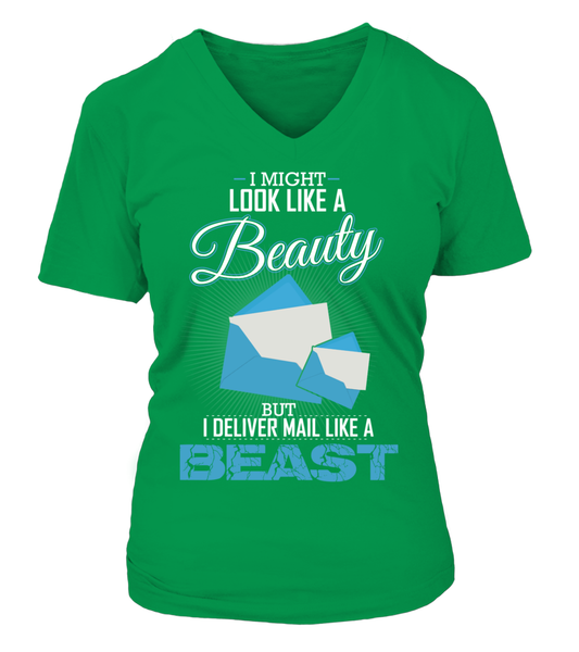 I Deliver Mail Like A Beast Shirt - Giggle Rich - 7