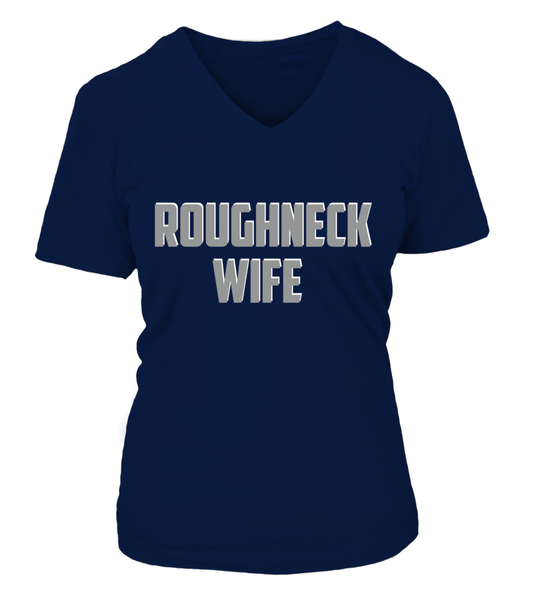 Roughneck Wife Waiting For Her Husband Shirt - Giggle Rich - 25