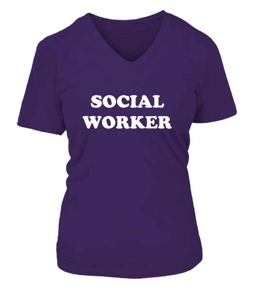 My Profession Taught Me To Love - Social Worker Shirt - Giggle Rich - 19