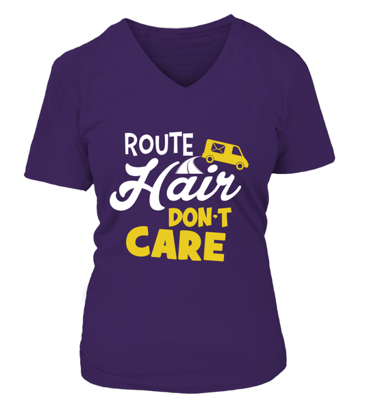 Route Hairs But Postal Workers Don't Care Shirt - Giggle Rich - 15