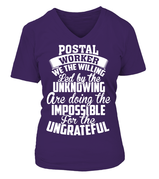 Postal Workers Ungrateful Shirt - Giggle Rich - 14