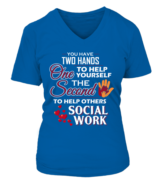 Social Worker Hands Shirt - Giggle Rich - 15