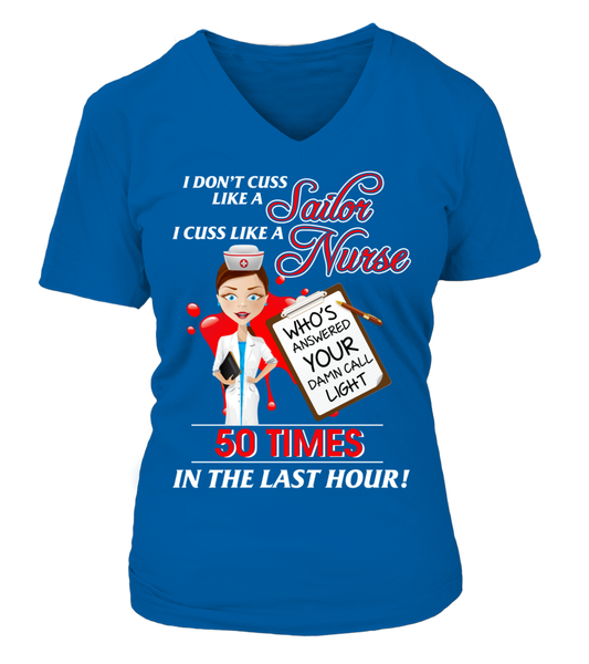 I Cuss Like A Nurse Shirt - Giggle Rich - 15