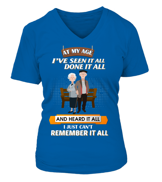At My Age - I Just Can't Remember It All Shirt - Giggle Rich - 14
