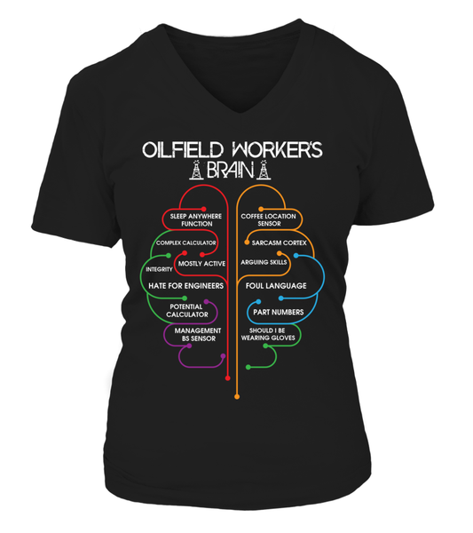 Oilfield Workers Brain Shirt - Giggle Rich - 13