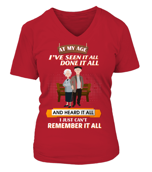 At My Age - I Just Can't Remember It All Shirt - Giggle Rich - 13