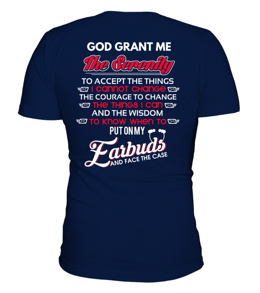 God Grants The Postal Worker With Serenity Shirt - Giggle Rich - 24