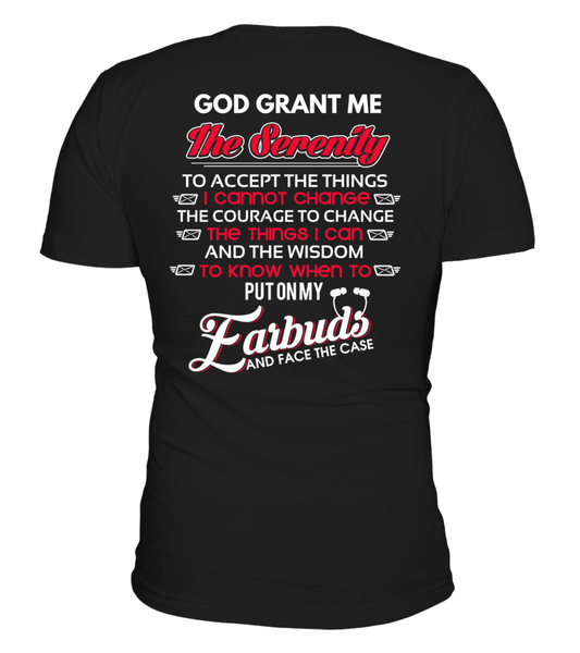 God Grants The Postal Worker With Serenity Shirt - Giggle Rich - 22