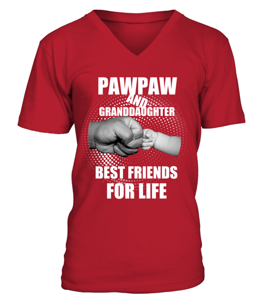PawPaw & Granddaughter Best Friends For Life Shirt - Giggle Rich - 10