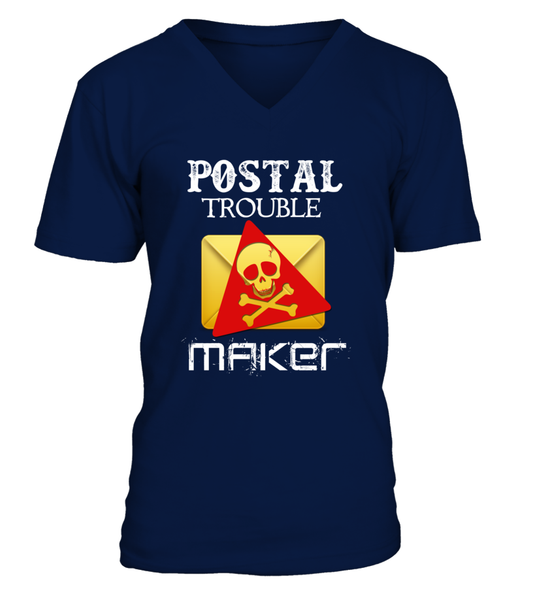 Postal Trouble Maker Shirt - Giggle Rich - 10