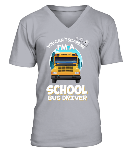 You Can't Scare Me, I'M A School Bus Driver Shirt - Giggle Rich - 2