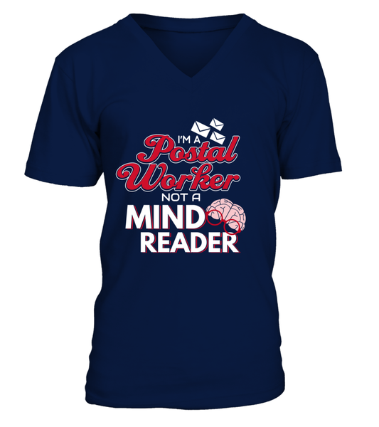 I'M A Postal Worker Not A Mind Reader Shirt - Giggle Rich - 5