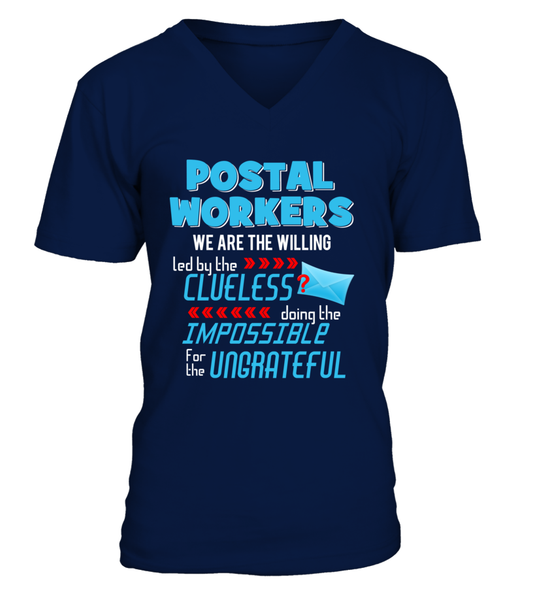 Postal Workers Doing The Impossible Shirt - Giggle Rich - 6