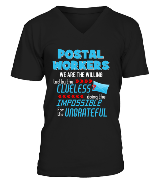 Postal Workers Doing The Impossible Shirt - Giggle Rich - 5