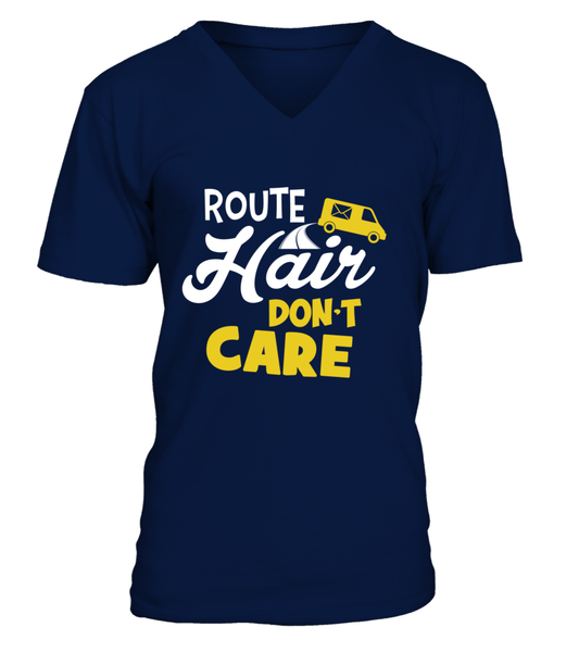 Route Hairs But Postal Workers Don't Care Shirt - Giggle Rich - 6
